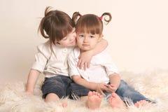 De Vriendschap van kinderen Stock Afbeeldingen