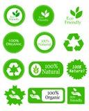 De vriendschappelijke elementen van Eco Stock Fotografie