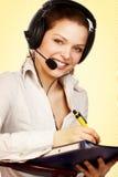 De vriendschappelijke steundienst. Stock Foto