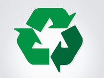 De vriendschappelijke sticker van Eco. Vector illustratie. Royalty-vrije Stock Foto