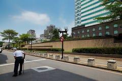 De vrij gewone straatmening stock fotografie
