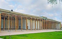 De Vrijdagmoskee in Kokand stock foto