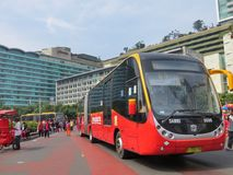 De vrije dag van de Auto van Djakarta Royalty-vrije Stock Foto's