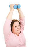 De Vrije Gewichten van Pilates Stock Afbeelding