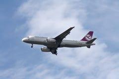 De vrije Luchtbus van de Luchtvaartlijnen van de Vogel A320 Stock Afbeelding