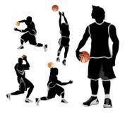 De vrije stijl van het basketbal Royalty-vrije Stock Afbeeldingen