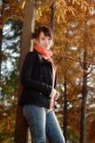 De vrije tijd in de herfst stock foto's
