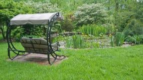 De vrije tijd van de tuin Stock Foto's