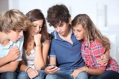 De vrije tijd van tienerjaren stock foto