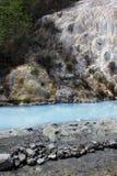 De vrije toegankelijke pool van de hete lentes van Bagni San Filippo stock foto