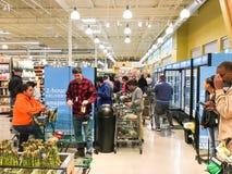 De vrije, van twee uur levering van Amazonië van Whole Foods aan Eerste leden Stock Afbeeldingen