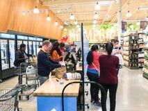 De vrije, van twee uur levering van Amazonië van Whole Foods aan Eerste leden Royalty-vrije Stock Afbeelding