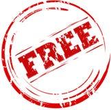 De vrije zegel van Grunge Royalty-vrije Stock Afbeeldingen