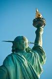 De vrijheid draait terug haar Royalty-vrije Stock Fotografie
