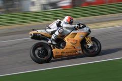 De Vrijheid Effenbert van Smrz Ducati 1098R van Jakub Stock Foto