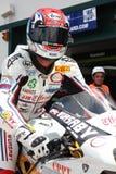 De Vrijheid Effenbert van Smrz Ducati 1098R van Jakub Stock Fotografie