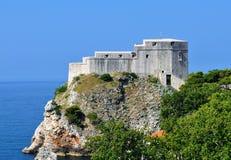 De vrijheid moet niet voor alle schatten in de wereld worden verkocht - St Lawrence Fortress royalty-vrije stock foto