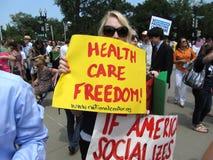 De Vrijheid van de gezondheidszorg Royalty-vrije Stock Afbeelding