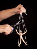 De vrijheid van de marionet Royalty-vrije Stock Foto's