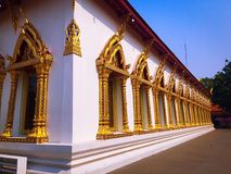 De vrijheid van de tempelgodsdienst in bankok Thailand Royalty-vrije Stock Afbeeldingen
