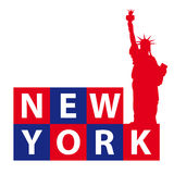 De Vrijheid van het Standbeeld van New York Royalty-vrije Stock Fotografie