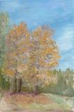 De vroege herfst Vector Illustratie