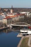 De vroege lente in Tartu Royalty-vrije Stock Foto
