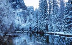 De vroege lente in Yosemite royalty-vrije stock afbeeldingen