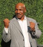 De vroegere in dozen doende kampioen Mike Tyson woont US Open 2016 openingsceremonie bij bij USTA Billie Jean King National Tenni royalty-vrije stock fotografie