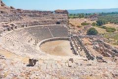 De vroegere Griekse stad van Milet stock foto's