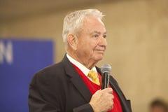 De vroegere Republikeinse Gouverneur Tommy Thompson van Wisconsin Stock Foto