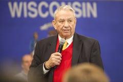 De vroegere Republikeinse Gouverneur Tommy Thompson van Wisconsin Royalty-vrije Stock Fotografie