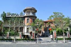 De vroegere woonplaats van Yizhaoyun in Tianjin Royalty-vrije Stock Afbeeldingen