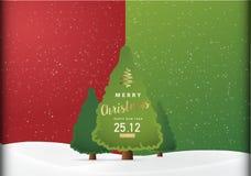 De vrolijke Achtergrond van de Kerstmispartij, Vectorillustratieontwerp Ep0 Stock Afbeelding