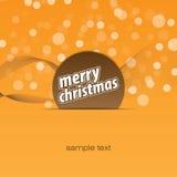 De vrolijke achtergrond van Kerstmis Royalty-vrije Stock Afbeeldingen