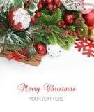 De vrolijke achtergrond van Kerstmis Royalty-vrije Stock Foto