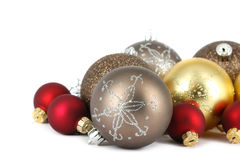De vrolijke decoratie van de Kerstmisbal Royalty-vrije Stock Foto