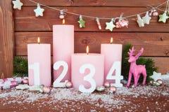 De vrolijke Decoratie van Kerstmis Royalty-vrije Stock Afbeelding