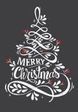 De vrolijke illustratie van Kerstmis Royalty-vrije Stock Foto's