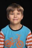 De vrolijke jongen. Stock Fotografie