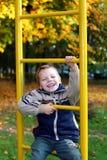 De vrolijke jongen Stock Foto's