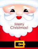 De vrolijke kaart van de Kerstmisgroet Royalty-vrije Stock Fotografie