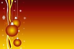 De vrolijke kaart van Kerstmis Royalty-vrije Stock Afbeelding