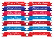 De vrolijke Krantekoppen van Kerstmis Stock Afbeeldingen