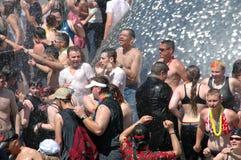 De vrolijke/Lesbische Viering van de Trots Royalty-vrije Stock Fotografie
