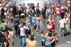 De vrolijke/Lesbische Viering van de Trots Stock Fotografie