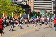 De vrolijke Parade van de Trots Stock Foto's