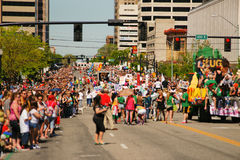 De vrolijke Parade van de Trots Stock Fotografie