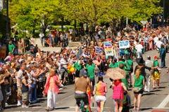 De vrolijke Parade van de Trots Stock Afbeeldingen