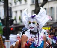 De vrolijke Parade van de Trots om vrolijke rechten te steunen Royalty-vrije Stock Afbeeldingen